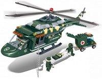 Медицински хеликоптер - Детски конструктор - играчка