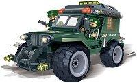 """Военен джип - Детски конструктор от серията """"BanBao Defence Force"""" - играчка"""