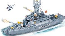 Военен кораб - Детски конструктор -