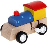 Дървен локомотив - играчка