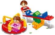 Люлка и въртележка - Детски конструктор - играчка