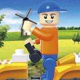 Ваканция  в планината - Детски конструктор - играчка