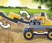 Строителни машини - Детски конструктор - играчка
