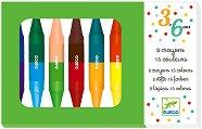 Двустранни маслени пастели - Комплект от 16 цвята