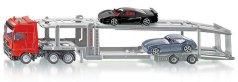 Автовоз - Mercedes-Benz Actros - Комплект с два автомобила - играчка