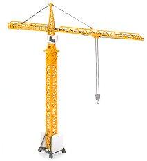 """Строителен кран - Метална играчка от серията """"Super: Cranes"""" -"""