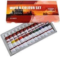 Акварелни бои - Комплект от 12 цвята x 12 ml