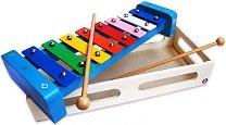 Ксилофон - В дървена кутия - играчка