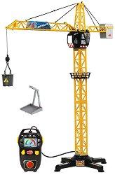 Строителен кран - Детска играчка с дистанционно управление - творчески комплект