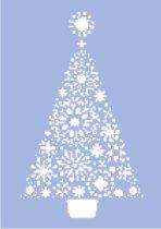 Шаблон - Коледна елха