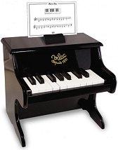 Дървено пиано - Детски музикален инструмент -
