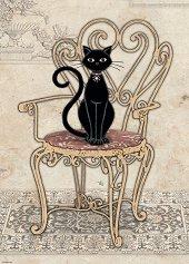 Котка на стол - Джейн Кроутър (Jane Crowther) - пъзел