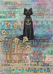 Египетска котка - Джейн Кроутър (Jane Crowther) - пъзел