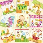 Салфетки - Бебе - Пакет от 20 броя