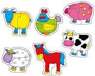 Ферма - Бебешки пъзел -