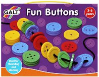 """Забавни копчета - Играчка от серията """"Играй и учи"""" - раница"""