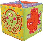 Меки кубчета - Зиг Заг - Играчка за бебета -