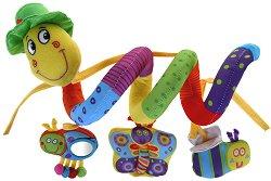 Усмихнато червейче - играчка