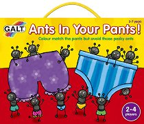 Изгони мравките - Образователна игра -