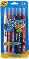 Вълшебни маркери с връх тип четка - Комплект от 6 цвята