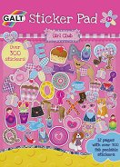 Galt: Блокче със стикери за момичета : Girl Club Sticker Pad