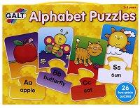 """Сглоби английската азбука - Пъзели от колекцията """"Играй и учи"""" - пъзел"""
