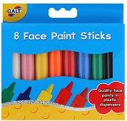 Боички за лице - Комплект от 8 цвята - играчка