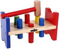 Чукче с наковалня - Дървена играчка - играчка