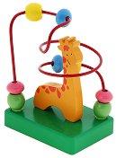 """Жираф - Дървена играчка от серията """"Лабиринт"""" -"""