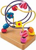"""Непослушните мъниста - Дървена играчка от серията """"Лабиринт"""" -"""