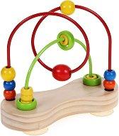Спирала - Double bubble - Детска дървена играчка -
