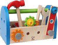 Кутия с инструменти - Детски комплект с аксесоари - играчка