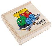 Веселото влакче - Мемо игра - играчка