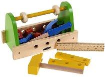 Сандъче с детски инструменти - Дървена играчка -