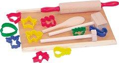 Кухненски аксесоари - Малкия готвач - Дървена играчка -
