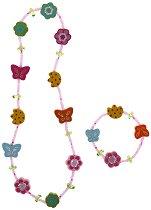 Детски бижута - Цветя - детски аксесоар