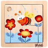 Пчеличка - Дървен пъзел - пъзел