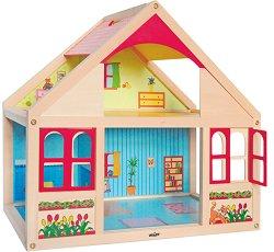 Дървена къща за кукли - Вероника -