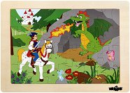 Принц Баяя - Детски дървен пъзел -