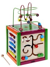 Цветен куб - играчка