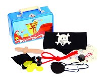 Пиратски аксесоари в куфарче - играчка