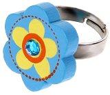 Детско пръстенче - Цвете - детски аксесоар