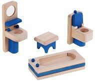 Баня - Дървени мебели за кукленска къща - играчка