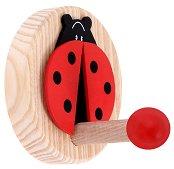 Детска дървена закачалка - Калинка -