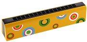 Дървена хармоника - играчка