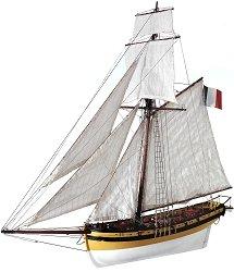 Le Renard - Сглобяем модел на кораб от дърво - макет