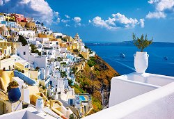 Санторини, Гърция - пъзел