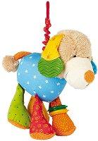 Куче - Вибрираща мека играчка за бебе - творчески комплект