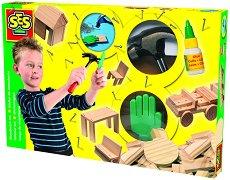 Направи сам от дърво - Творчески комплект - играчка
