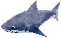 Хартиен свят: Акула - Модел за сглобяване - хартиен модел